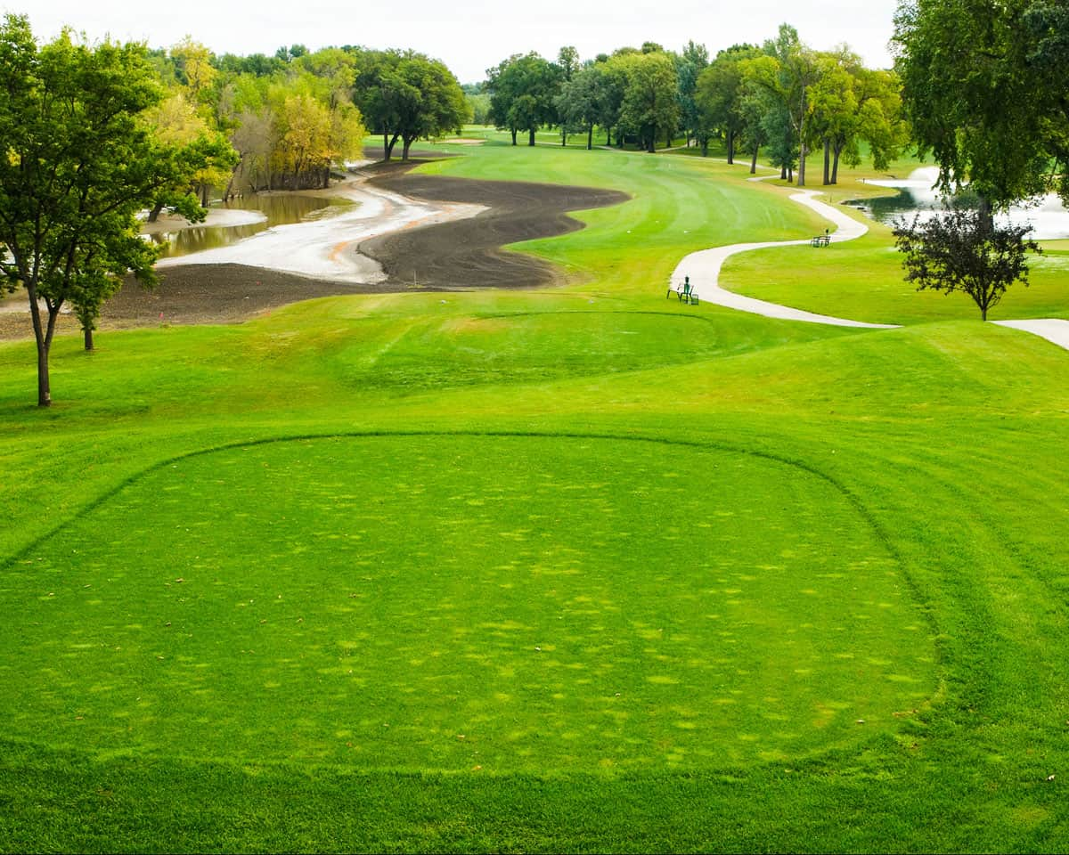 Edgewood Public Golf Course Hole 4