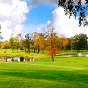 Edgewood Course During the Fall