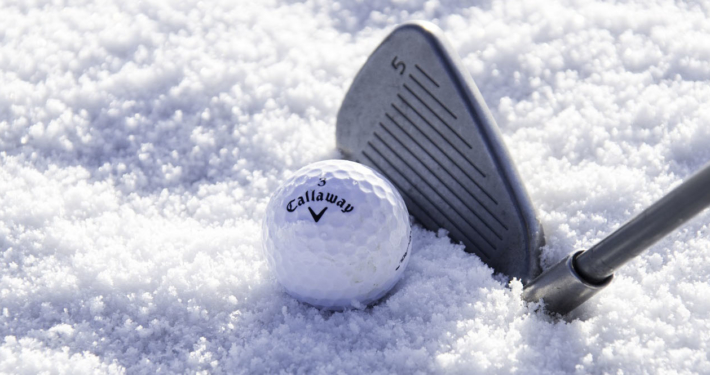 Golfing in the Winter