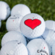 Valentine's Day Golf Balls